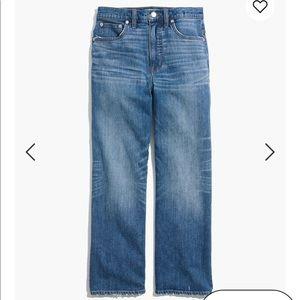 Madewell Jeans - Madewell slim wide leg crop jeans